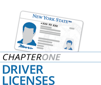 Chapter One - Driver Licenses
