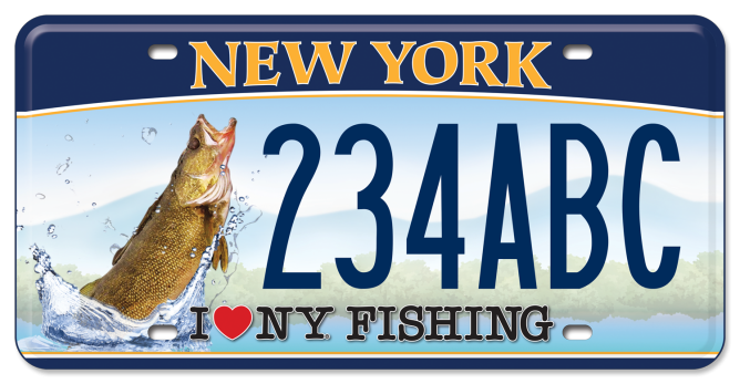 fishing walleye vehicle new york state of
