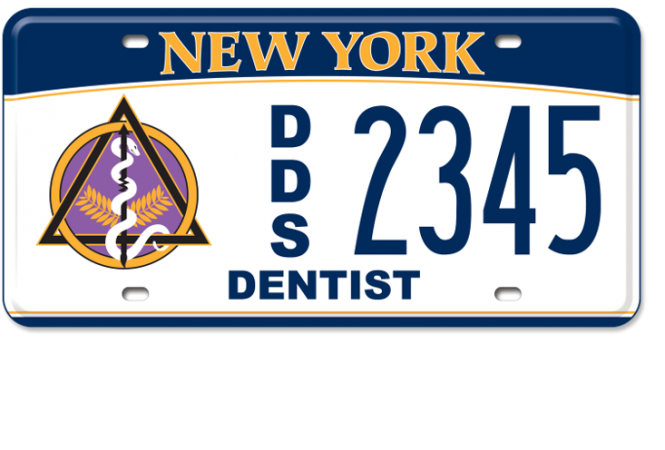Dentist custom plate