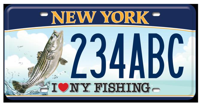I Love NY Fishing - Striped Bass