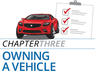Chapter 3 - Owning a Vehicle