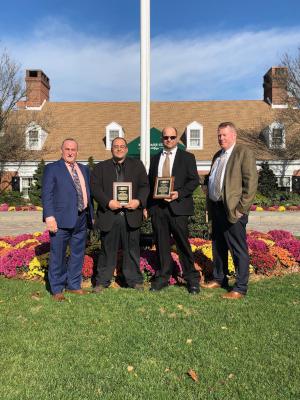 DFI Investigators Displaying NYACT Awards
