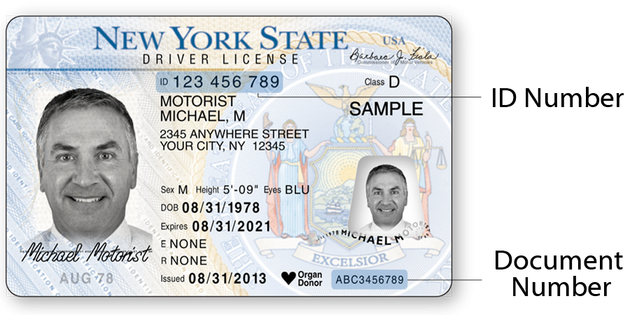 replace state id new york