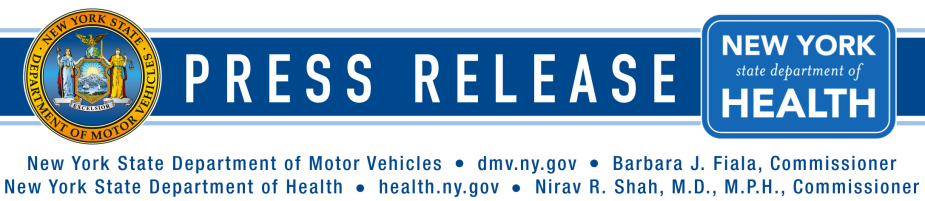 Press release 04 10 2012 new york state department of for New york state department of motor vehicles new york ny