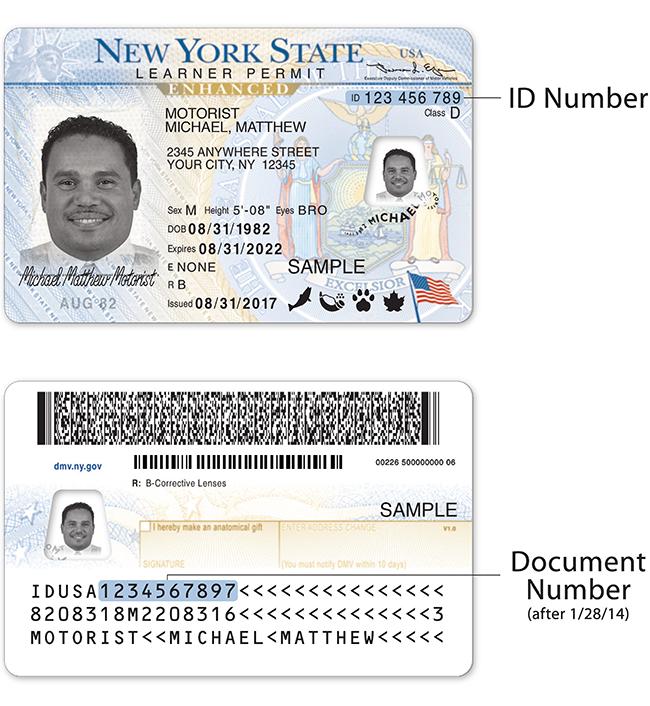 arrest warrant renewing id card identification card