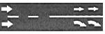 lane markings - arrows