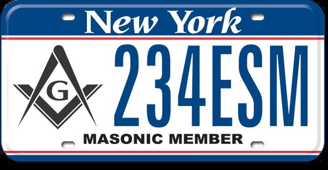 Masons custom plate