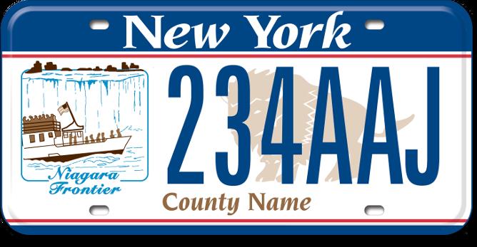 Niagara Region custom plate