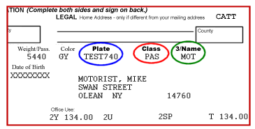 Ny Dmv Cost To Renew A Car Registration