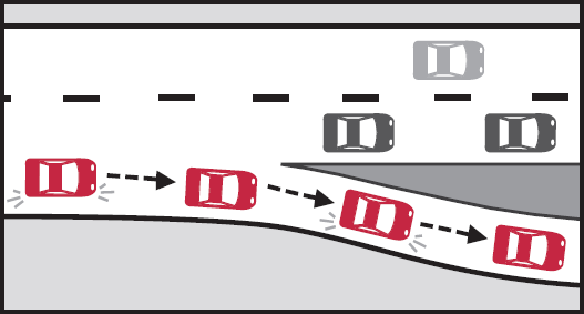 Expressway Driving - off ramp