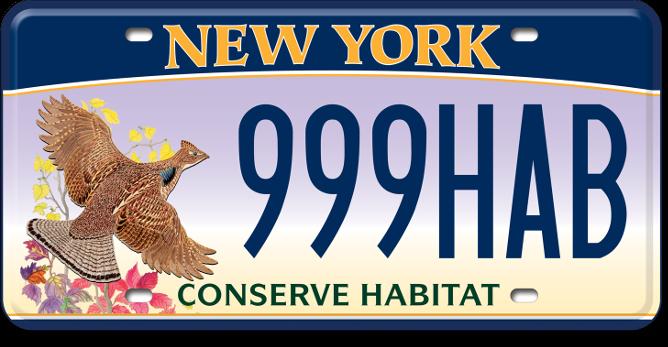 Conserve Habitat custom plates