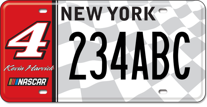 Kevin Harvick custom plate