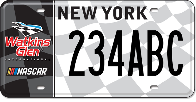 Watkins Glen International custom plate
