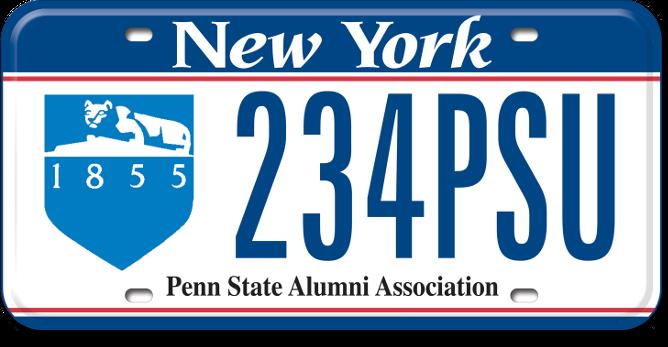 Penn State custom plate