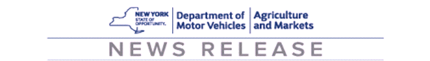 News Release Banner - DMV & Agriculture and Markets