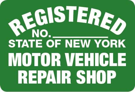 Open a repair or body shop new york state department of for Motor vehicle body repair