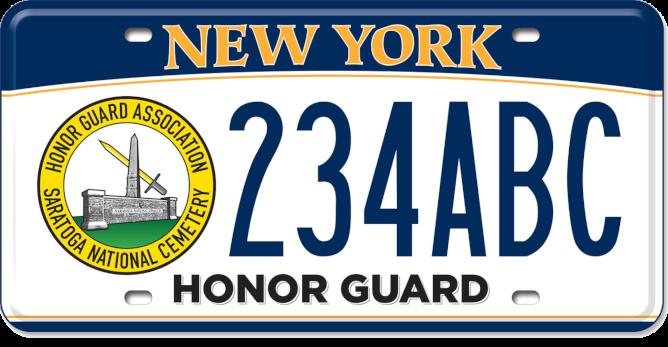 Saratoga National Cemetery Honor Guard