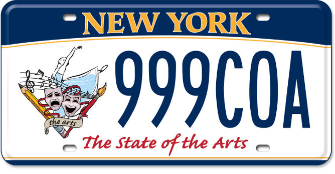 State of the Arts custom plate
