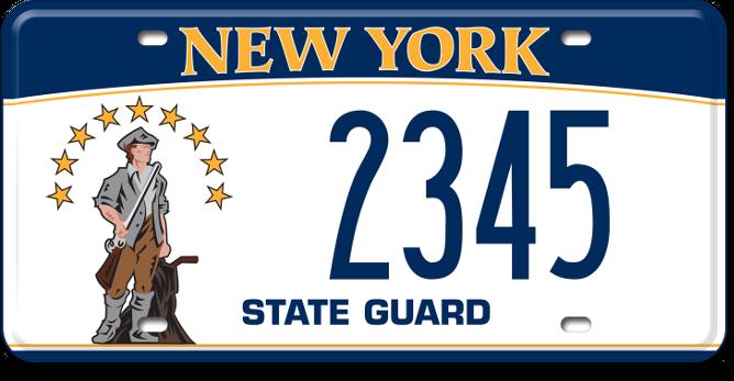 State Guard custom plate