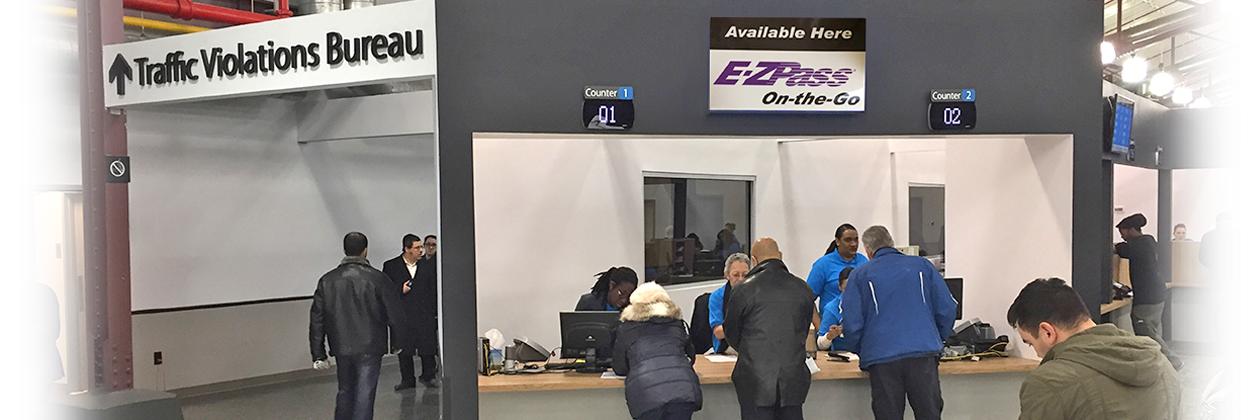 purchase E-ZPass at A DMV office