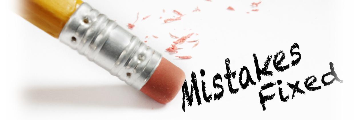 Top 5 DMV Mistakes